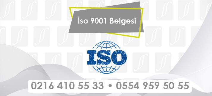 İso 9001 Belgesi