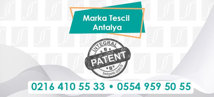 Marka Tescili Antalya