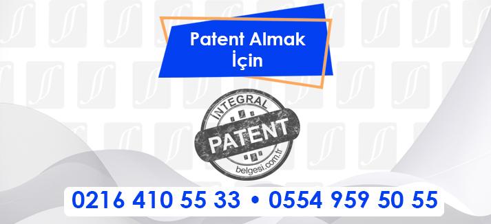 Patent Almak İçin