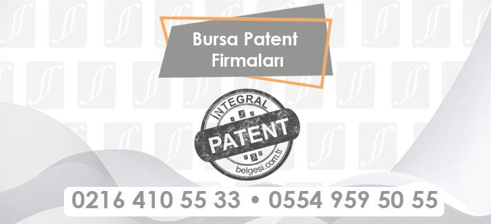 Bursa Patent Firmaları