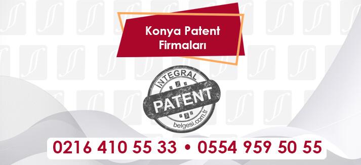 Konya Patent Firmaları