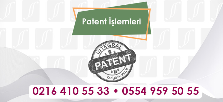 Patent İşlemleri
