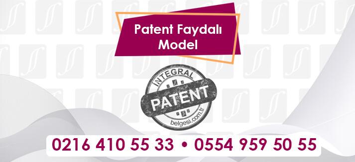 Patent Faydalı Model-