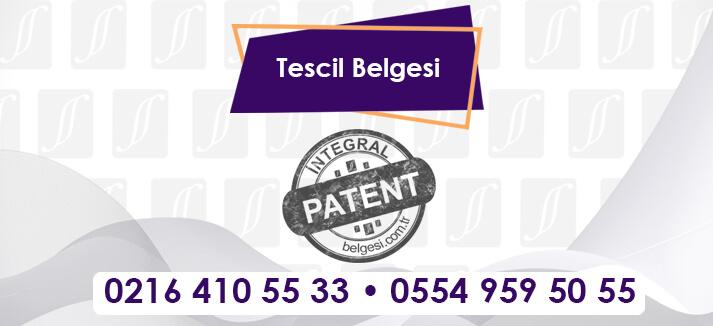 Tescil Belgesi-