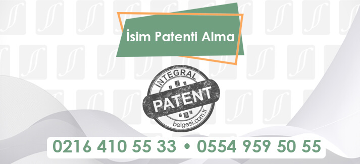 isim patenti alma
