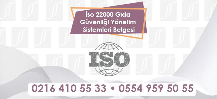 İso 22000 Gıda Güvenliği Yönetim Sistemleri Belgesi