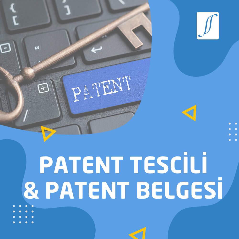 patent tescili-patent belgesi